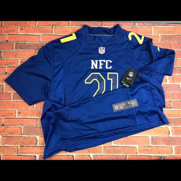 hot sales 64f2c 4aa2c NFL NFC Pro Bowl Jersey #21 Landon Collins NWT